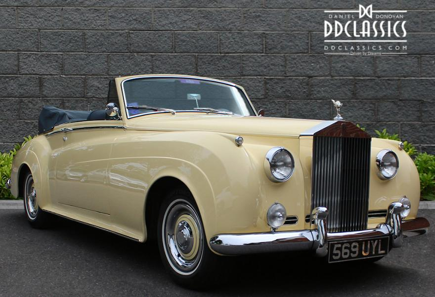 classic rolls-royce silver cloud 2 drophead for sale at DD Classics