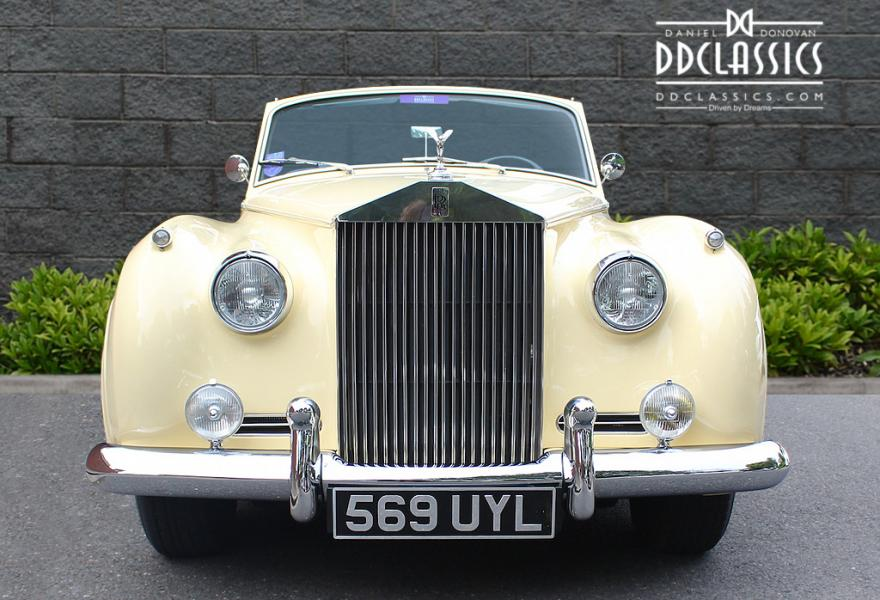 1962 rolls-royce silver cloud 2 price