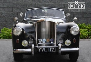 1951 Bentley MK VI Drophead By Graber For Sale