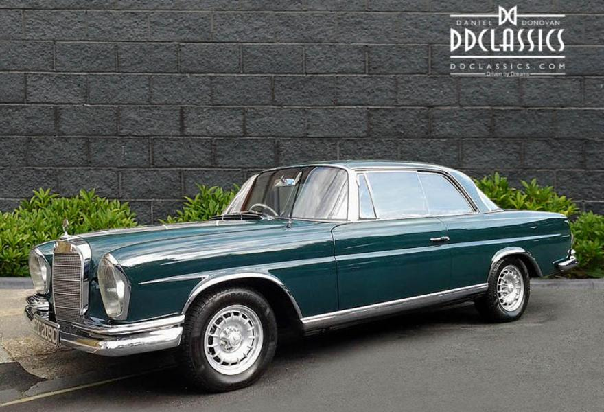 Mercedes benz 220se 5 0 coupe rhd for 1965 mercedes benz 220se for sale