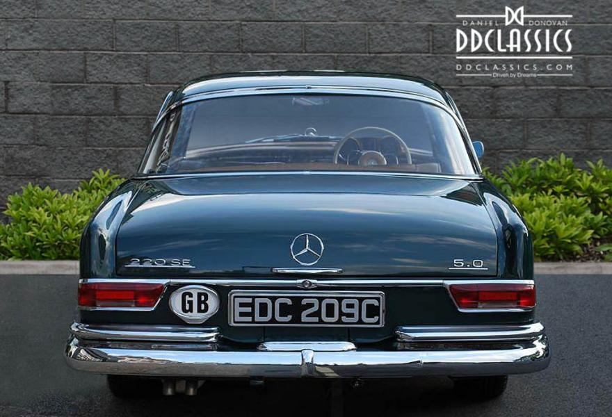 Mercedes benz 220se 5 0 coupe rhd for Mercedes benz financial phone number