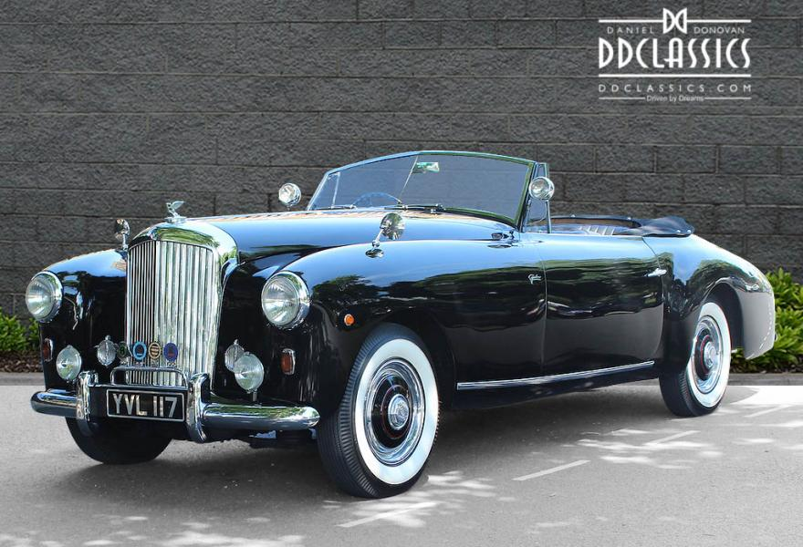 1951 Bentley MK VI Graber Drophead (RHD) for sale in London