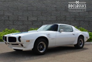 pontiac firebird trans am muscle car for sale UK