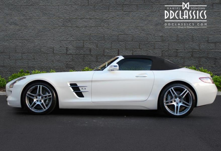 Mercedes benz sls amg roadster rhd for Mercedes benz sls amg for sale