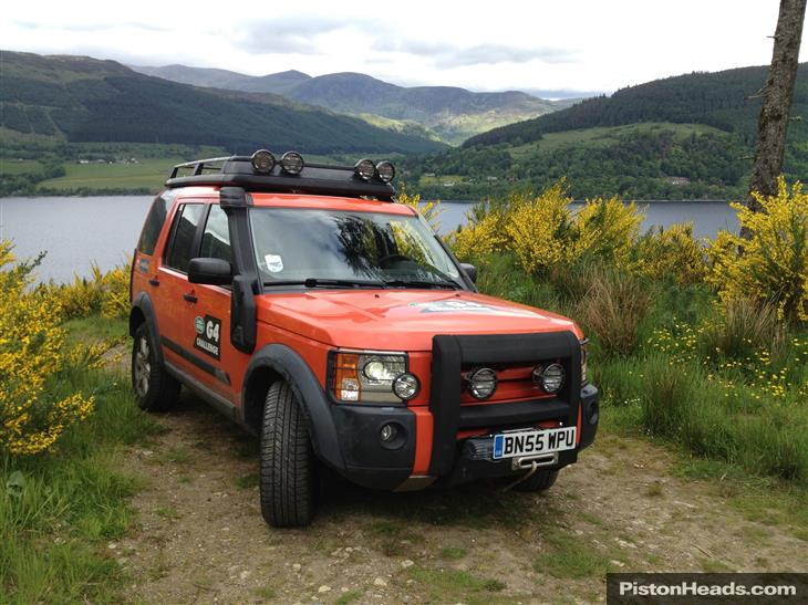 Land Rover Discovery 3 Hse V8 G4 Challenge Lhd