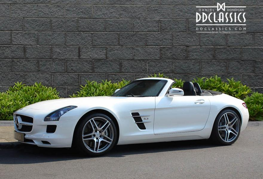 Mercedes benz sls amg roadster rhd for Mercedes benz sls amg convertible for sale
