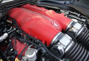 Ferrari California Engine