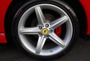 "Ferrari 575M 20"" Diamond Finish Sport Wheels"