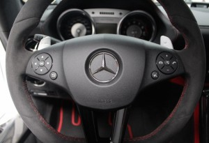 Mercedes SLS AMG Black Series Performance Steering Wheel