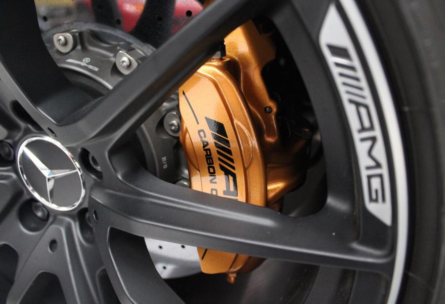 Mercedes SLS AMG Black Series Carbon Fibre Brake System