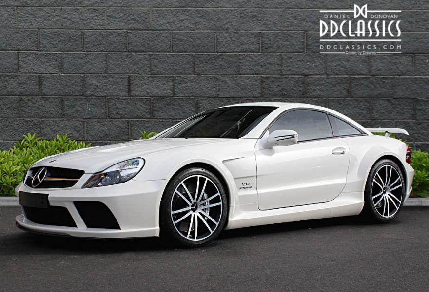 Mercedes AMG SL65 Black Series