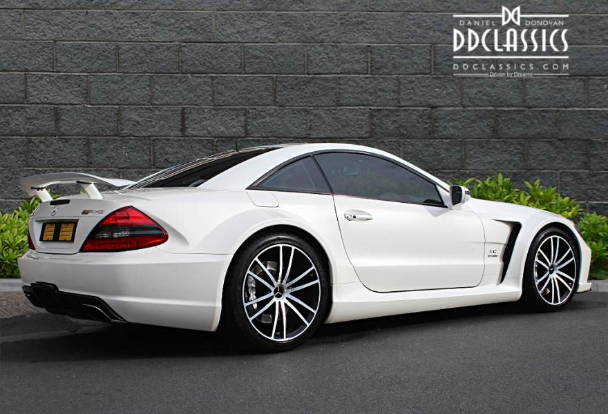 mercedes sl 65 amg black series rhd. Black Bedroom Furniture Sets. Home Design Ideas