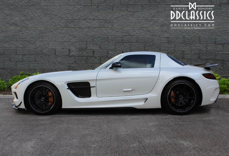 mercedes sls amg black series lhd