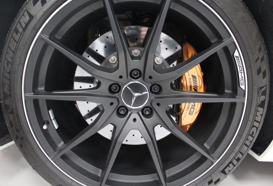 Black Series AMG wheels