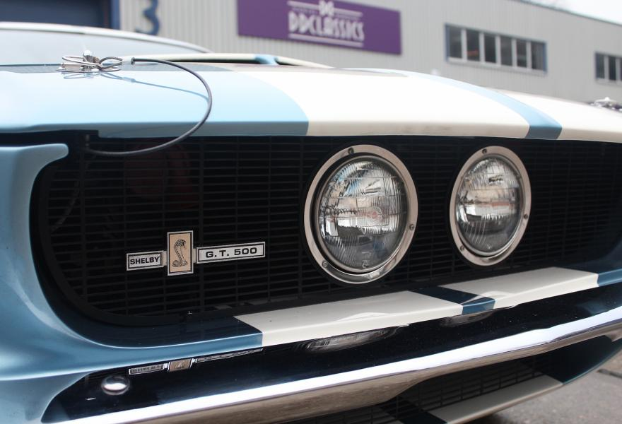 shelby gt500 fastback headlights