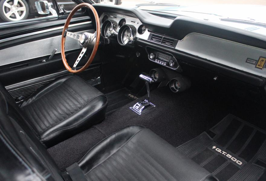 ford shelby mustang interior
