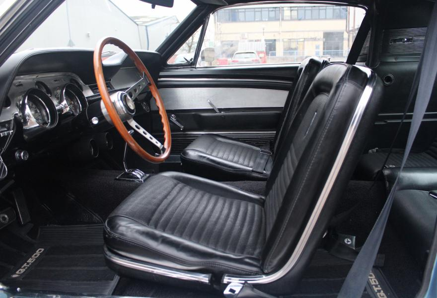 gt500 mustang front seats