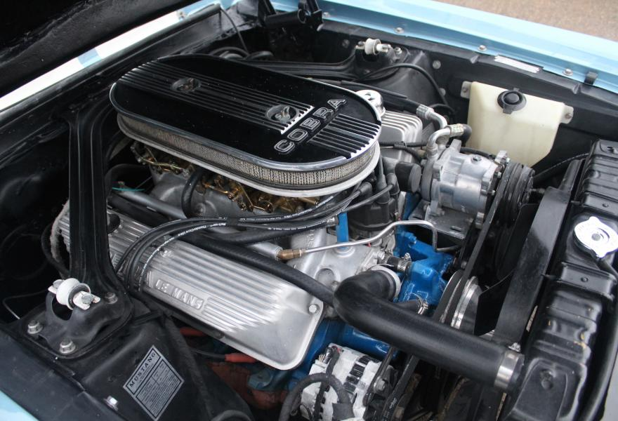 ford shelby gt500 mustang engine