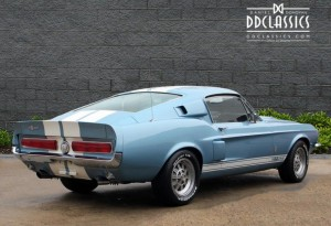 1967 Ford Shelby GT 500 Mustang Fastback For Sale in London (LHD)