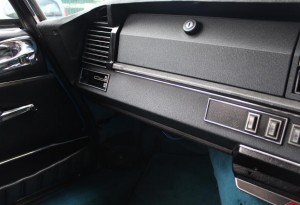 Citroen DS23 Pallas dashboard