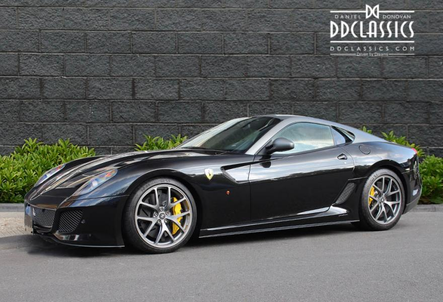 ferrari 599 gto lhd. Black Bedroom Furniture Sets. Home Design Ideas
