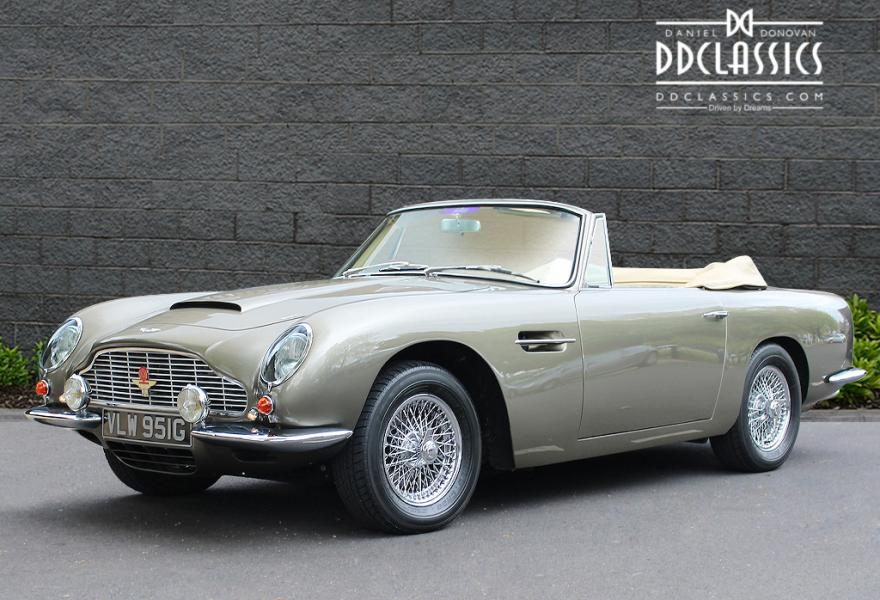 Aston Martin DB6 Volante for sale in London (RHD)