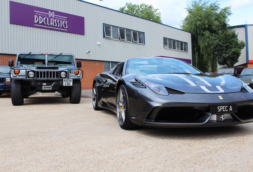Ferrari 458 Speciale A for sale