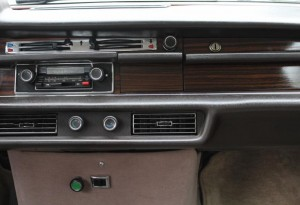 Mercedes 300 SL dashboard