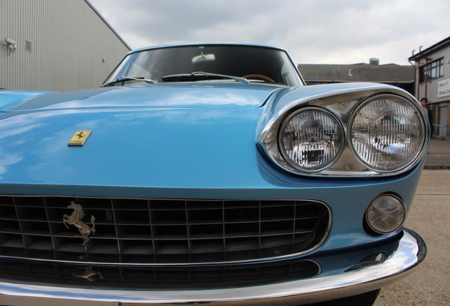 Ferrari 330 GT close up