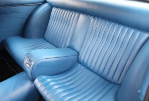 Ferrari 330 GT 2+2 rear seats