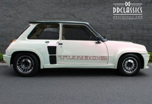 The Renault 5 Turbo was the product of an exciting era of rallying