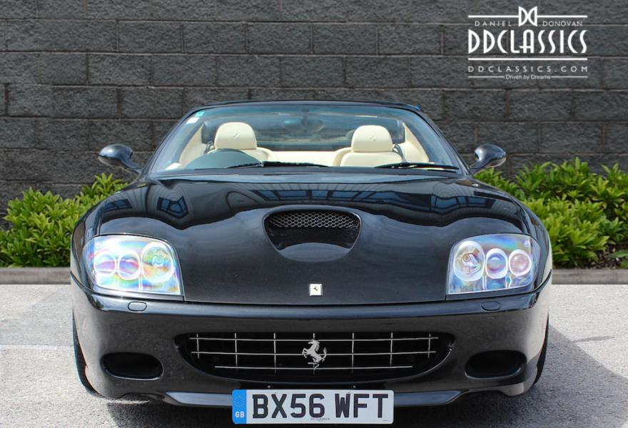 2006 Ferrari 575M Superamerica F1 for sale in London (RHD)
