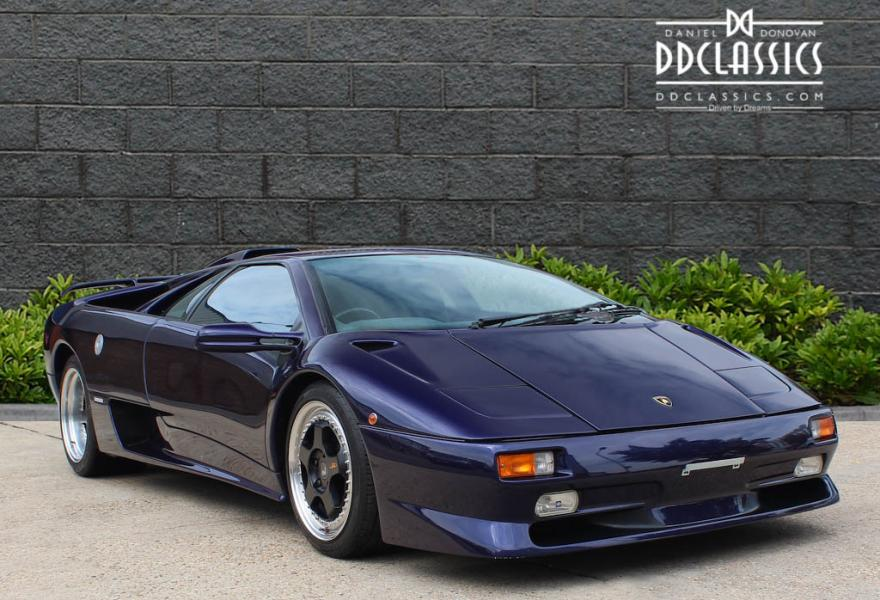 lamborghini diablo auction