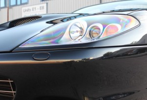 bi-xenon ferrari lights