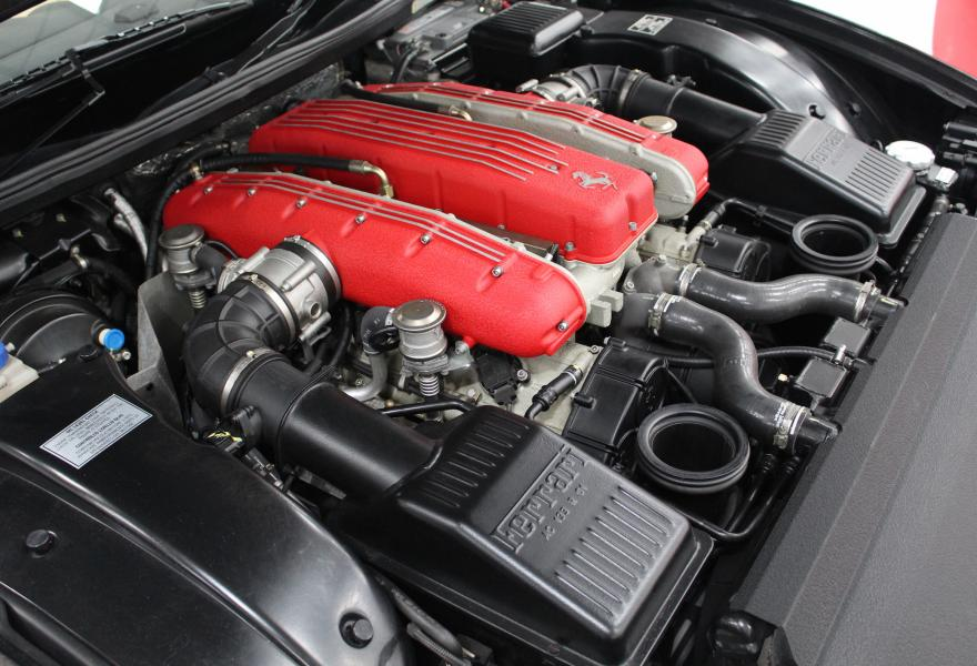 5.7 litre, V12 Ferrari 575 engine