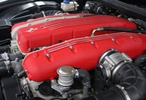 what size is a ferrari superamerica engine