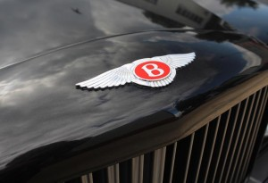 Bentley badge on a Turbo RT for sale at DD Classics
