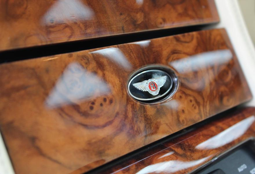 bentley wooden trim