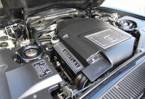 Bentley Turbo RT engine