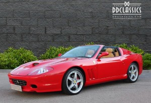 Ferrari 575M F1 Superamerica for sale in UK red