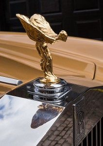 gold plated spirit of ecstasy