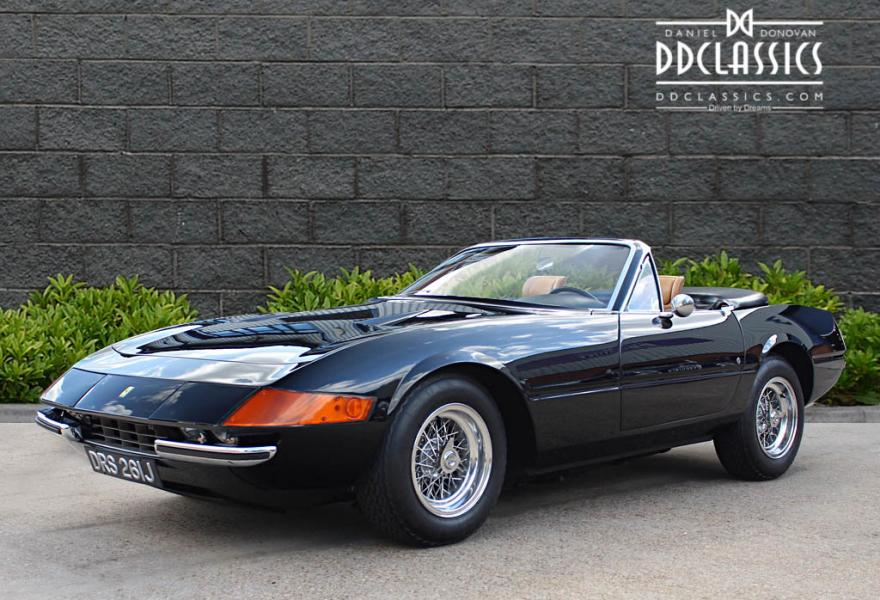 Ferrari 365 GTS/4 Daytona Spyder for sale UK