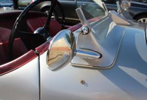 classic jaguar xk120 roadster wing mirrors