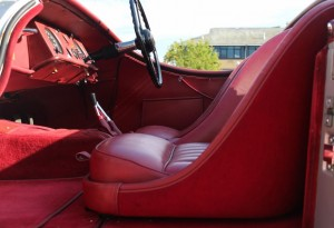 jaguar xk120 interior