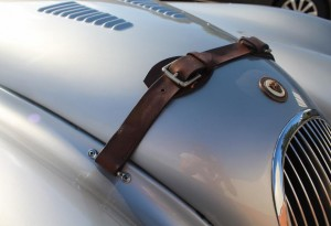 leather bonnet strap for classic jaguar xk120
