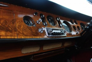 wooden bentley dashboard