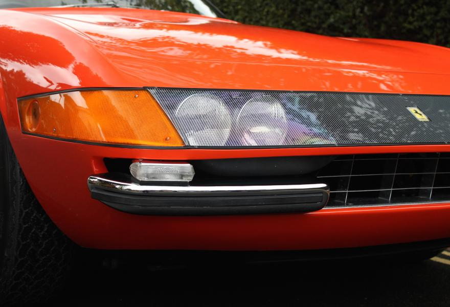 ferrari daytona plexiglass lights