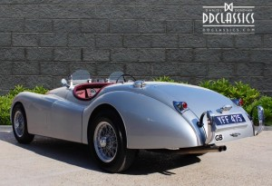 XK120 Jaguar convertible price UK