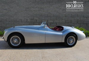 jaguar xk120 for sale at DD Classics