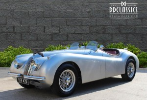 1953 Jaguar XK 120 SE Roadster for sale UK